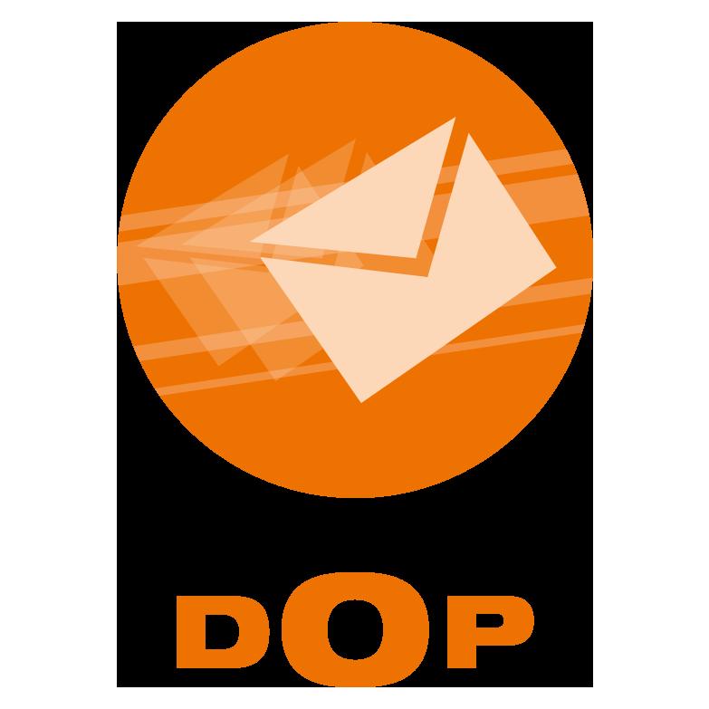 DOP - das Symbol für digitalen Postversand