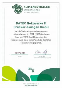 datec fokuszukunft zertifikat